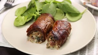 Keto Stuffed Beef Rolls Recipe