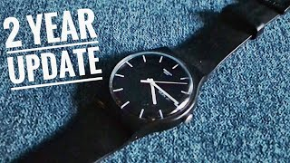Swatch Mono Black 2 Year Update - Why You Should Get A Metal Buckle