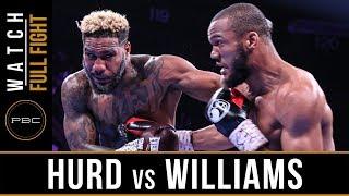 Hurd vs Williams FULL FIGHT: May 11, 2019 - PBC on FOX