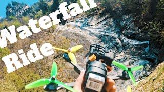 Waterfall ride ⚡????⚡ | FPV Freestyle