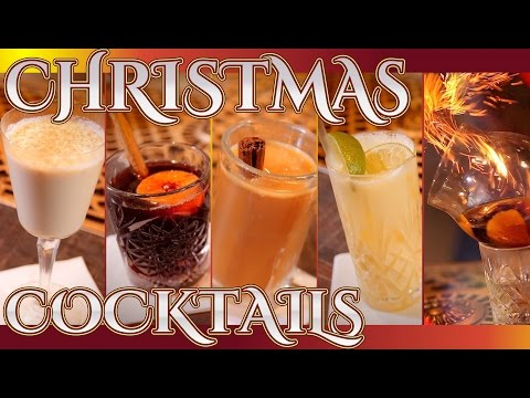 Video Christmas Cocktails