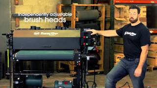 An Overview: The SuperBrush Double Brush Sander