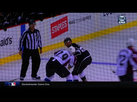 Trevor Lewis vs. Nathan MacKinnon
