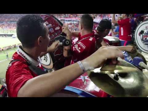 """""""El día de la vuelta / Medellín vs Alianza Petrolera - La Murga del Indigente"""" Barra: Rexixtenxia Norte • Club: Independiente Medellín • País: Colombia"""