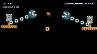 【Super Mario Maker】クリア率0%(0/12553) 虐殺の超鬼畜コースに挑戦【マリオメーカー】