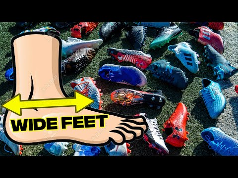 TOP 5 Fußballschuhe für BREITE Füße