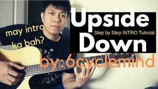 Upside Down Guitar Tutorial (with Intro) - 6cyclemind