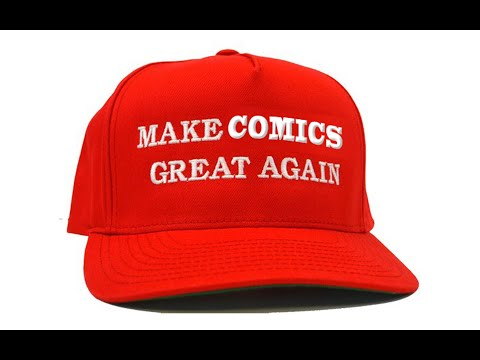 Making COMICSGREAT again! With Mike Baron and more!