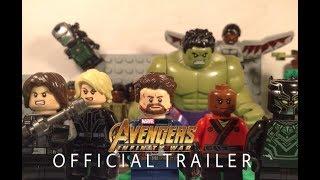 Avengers Infinity War Trailer In LEGO