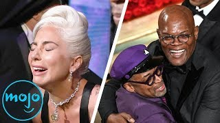 Top 10 Best Celeb Award Winning Reactions