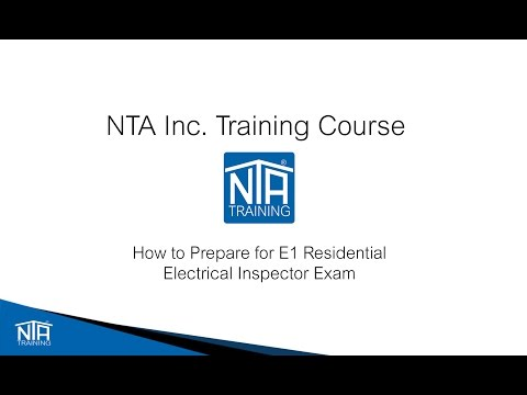 Studying for the ICC E1 Residential Electrical Inspector Video ...