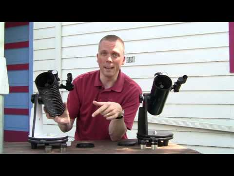Orion Funscope / Celestron Firstscope review/comparison