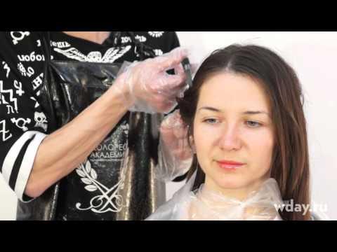 Брондирование на темные волосы, как окрасить в домашних условиях