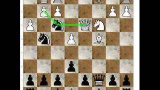 فخ شطرنج السايبيري : الدفاع الصقلي Siberian Trap