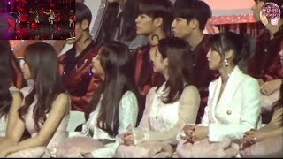TWICE Reaction  To BLACKPINK - '불장난 (PLAYING WITH FIRE)' + '마지막처럼 (AS IF IT'S YOUR LAST) In 2018 GDA