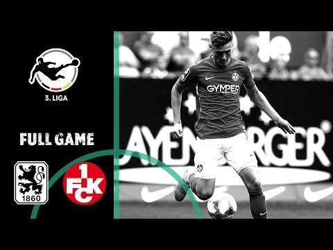 1860 München vs. 1. FC Kaiserslautern 3-1 | Full Game | German 3rd Division | Matchday 10