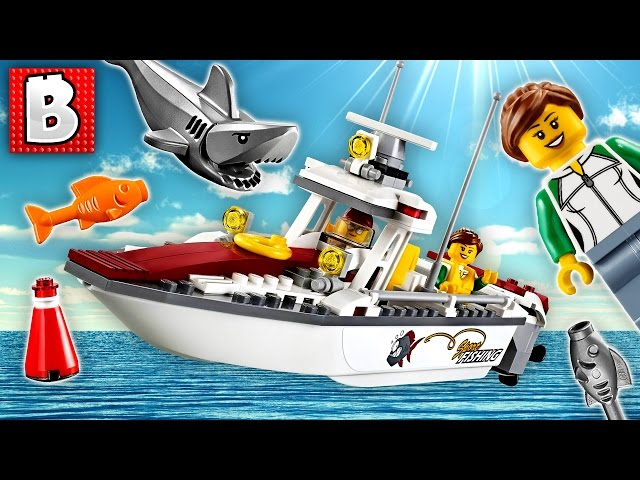 Lego City Fishing Boat Set 60147 | Unbox Build Time Lapse Review