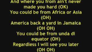 Akon - Gunshot, Lyrics