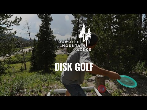 Disk Golf at Togwotee Mountain Lodge
