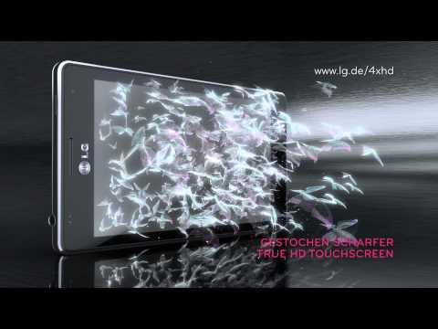 Youtube Video LG Optimus True HD LTE P936 in schwarz
