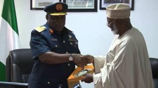 General Abubakar in Defence Headquarters Abuja