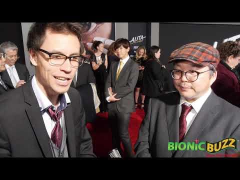 Yukito Kishiro Interview at World Premiere of Alita: Battle Angel