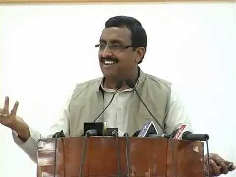 Ram Madhav on socio-political situation in Jammu and Kashmir