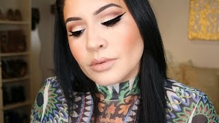 Makeup for Small Eyes: Neutral Glam