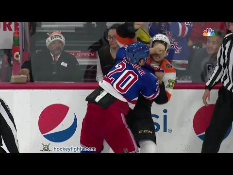 Brandon Manning vs. Chris Kreider