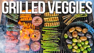 The Best Grilled Vegetables EVER! | SAM THE COOKING GUY 4K
