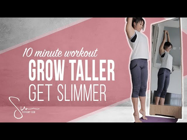 How I Got Taller and Slimmer with Stretching | 10 Minute Workout