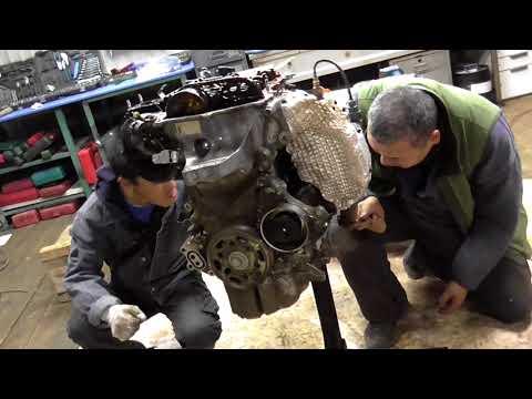 Фото к видео: Вскрытие и определение причин поломки двигателя 1KR-FE + обзорчик двигателя.