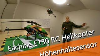 Eachine E 130 RC Helikopter mit Höhenhaltesenor - leichter Umstieg auf einen RC Heli? by Banggood