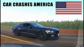 CAR CRASHES IN AMERICA USA 2017 | BAD DRIVERS USA #12