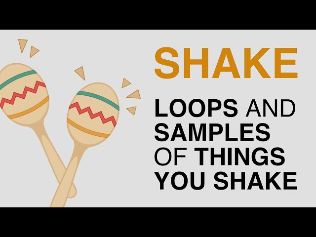 SHAKE Sample Pack (Free) Audio Demo