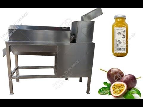 Juice Machine|Passion Fruit Juice Extracting Machine|Passion flower Fruit Pulping Machine