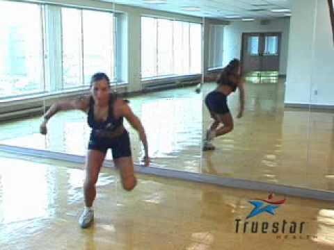 Side to Side Single Leg Jumps Female