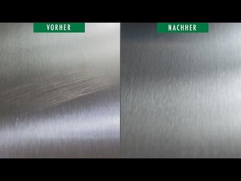 Blech - Fehlstelle aus Oberfläche entfernen