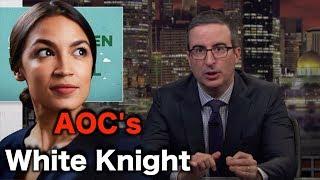 John Oliver Lies For AOC