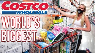 MASSIVE COSTCO SUMMER HAUL AT THE BIGGEST COSTCO IN THE WORLD 🌎 WORLD'S BIGGEST COSTCO HAUL LARGEST