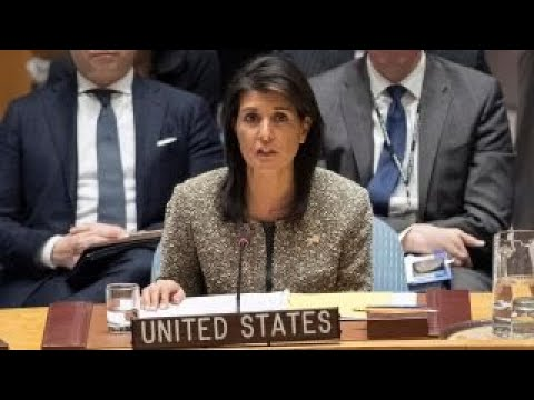 Haley: US deeply committed to achieving a peace agreement