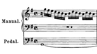 JS Bach / Michel Chapuis, 1961: Prelude in G Major, BWV 568