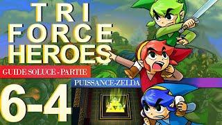 Soluce Tri Force Heroes : Niveau 6-4