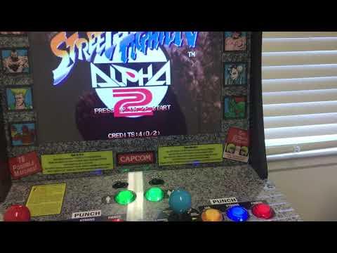Arcade1up Street Fighter Mod Update - смотреть онлайн на Hah
