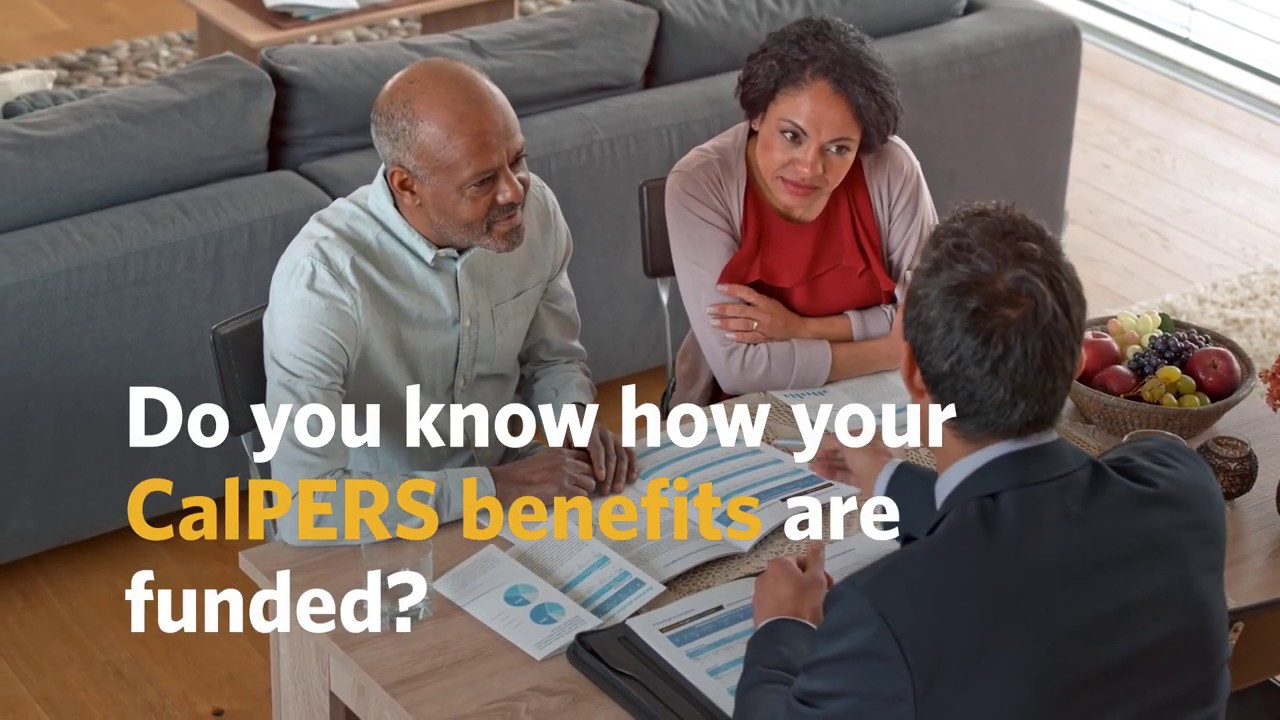 How Is Your CalPERS Pension Funded?