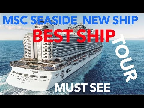 MSC Seaside Review – Full Walkthrough Tour – MSC Cruise Lines