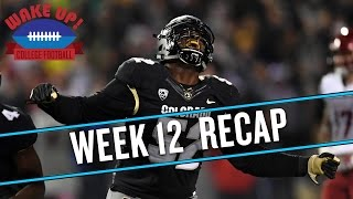 Wake Up College Football - Week 12 Recap thumbnail