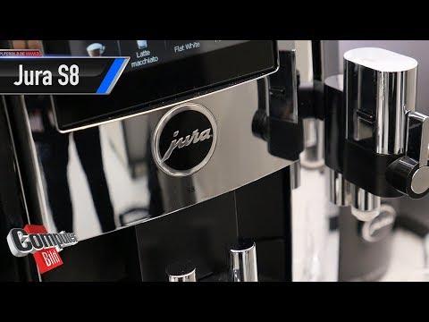 Jura S8: Smarter Kaffeevollautomat im Check