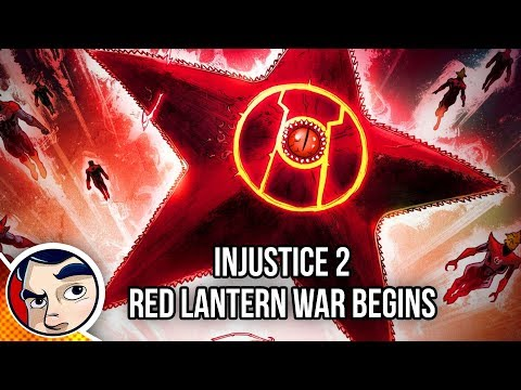 "Injustice 2 ""Red Lantern WAR!"" – Complete Story"