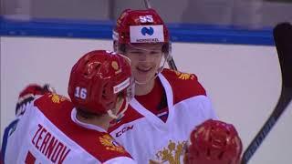 """Sochi Hockey Open.  """"АкБарс"""" - Олимпийская сборная России - 4:2. Видеообзор"""